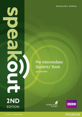 SpeakOut 2nd Edition Pre-Intermediate Student Book + DVD(підручник) - фото обкладинки книги