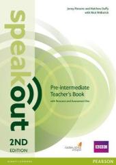 SpeakOut 2nd Edition Pre-Intermediate Teacher's Book+ CD (книга вчителя) - фото обкладинки книги