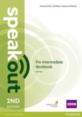 SpeakOut 2nd Edition Pre-Intermediate Workbook + Key - фото обкладинки книги