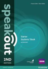 SpeakOut 2nd Edition Starter Student Book + DVD(підручник) - фото обкладинки книги