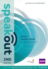 SpeakOut 2nd Edition Starter Teacher's Book+ CD (книга вчителя) - фото обкладинки книги
