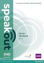 SpeakOut 2nd Edition Starter Workbook + Key - фото обкладинки книги
