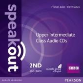 SpeakOut 2nd Edition Upper-Intermediate Class Audio CD (аудіодиск) - фото обкладинки книги