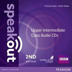 SpeakOut 2nd Edition Upper-Intermediate Class Audio CD (аудіодиск) - фото книги