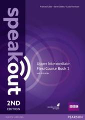 SpeakOut 2nd Edition Upper-Intermediate Split book 1 Student Book + DVD + Key (підручник) - фото обкладинки книги
