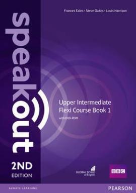 SpeakOut 2nd Edition Upper-Intermediate Split book 1 Student Book + DVD + Key (підручник) - фото книги