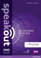 SpeakOut 2nd Edition Upper-Intermediate Student Book + DVD+ MEL(підручник) - фото обкладинки книги