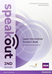 SpeakOut 2nd Edition Upper-Intermediate Teacher's Book+ CD (книга вчителя) - фото обкладинки книги