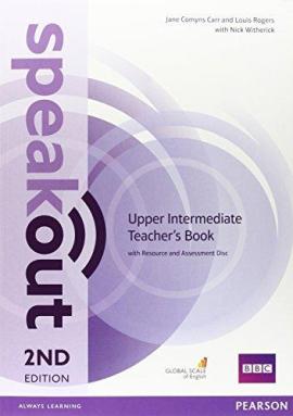 SpeakOut 2nd Edition Upper-Intermediate Teacher's Book+ CD (книга вчителя) - фото книги