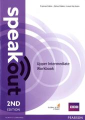SpeakOut 2nd Edition Upper-Intermediate Workbook + Key (робочий зошит) - фото обкладинки книги