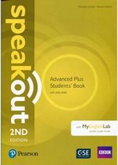 Speakout Advanced Plus Student's Book with DVD-ROM and MyEnglishLab - фото обкладинки книги
