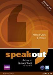 SpeakOut Advanced Student Book + DVD(підручник) - фото обкладинки книги