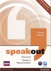 SpeakOut Advanced Teacher's Book(книга вчителя) - фото обкладинки книги