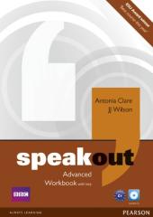 SpeakOut Advanced Workbook + Key + CD (робочий зошит) - фото обкладинки книги