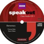 SpeakOut Elementary Class Audio CD (аудіодиск) - фото обкладинки книги