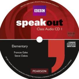 SpeakOut Elementary Class Audio CD (аудіодиск) - фото книги