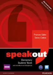 SpeakOut Elementary Student Book + DVD+ MEL (підручник) - фото обкладинки книги
