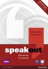 SpeakOut Elementary Workbook + CD (робочий зошит) - фото обкладинки книги