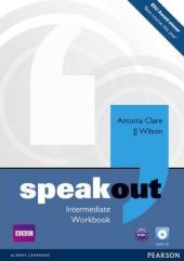 SpeakOut Intermediate Workbook + CD (робочий зошит) - фото обкладинки книги