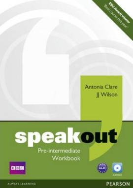 SpeakOut Pre-Intermediate Workbook + CD (робочий зошит) - фото книги