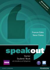 SpeakOut Starter Student Book + DVD+ MyLab (підручник) - фото обкладинки книги