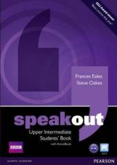 SpeakOut Upper-Intermediate Student Book + DVD(підручник) - фото обкладинки книги