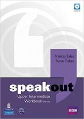 SpeakOut Upper-Intermediate Workbook + Key + CD (робочий зошит) - фото обкладинки книги
