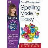 Spelling Made Easy Ages 5-6 Key Stage 1 - фото обкладинки книги