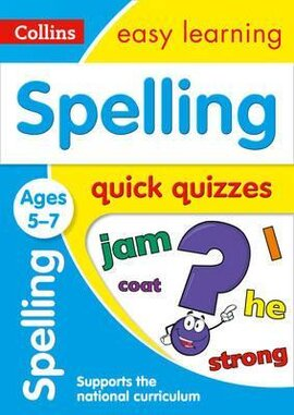 Spelling Quick Quizzes. Ages 5-7 - фото книги