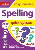 Аудіодиск Spelling Quick Quizzes Ages 7-9