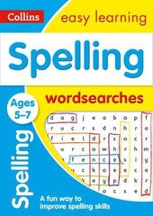 Spelling Word Searches. Ages 5-7 - фото обкладинки книги