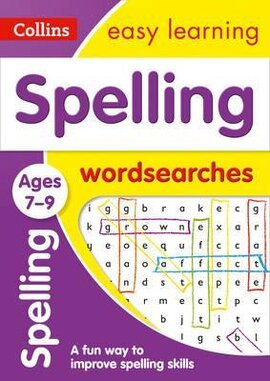 Посібник Spelling Word Searches Ages 7-9
