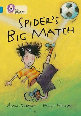 Spider's Big Match - фото книги