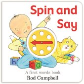 Spin and Say: A First Words Book - фото обкладинки книги