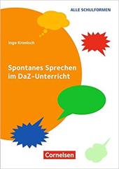 Spontanes Sprechen im DaZ-Unterricht Buch - фото обкладинки книги