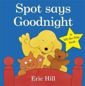Spot Says Goodnight - фото обкладинки книги