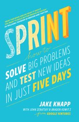 Sprint : How To Solve Big Problems and Test New Ideas in Just Five Days - фото обкладинки книги