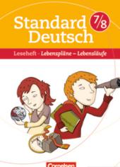 Standard Deutsch 7/8. Lebensplne - Lebenslufe - фото обкладинки книги