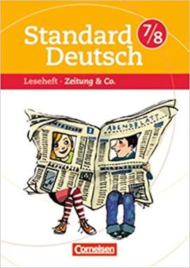 Standard Deutsch 7/8. Zeitungen & Co - фото книги