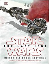 Star Wars The Last Jedi (TM) Incredible Cross Sections - фото обкладинки книги