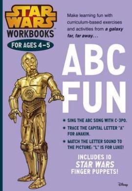 Star Wars Workbooks. ABC Fun. Ages 4-5 - фото книги