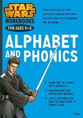 Star Wars Workbooks. Alphabet and Phonics. Ages 5-6 - фото книги