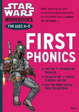 Star Wars Workbooks. First Phonics. Ages 4-5 - фото книги