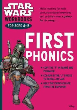 Star Wars Workbooks. First Phonics. Ages 4-5 - фото книги