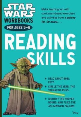 Star Wars Workbooks. Reading Skills. Ages 5-6 - фото книги