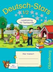 Stars: Deutsch-Stars 1/2 Lesetraining Tierfreunde - фото обкладинки книги