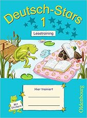 Stars: Deutsch-Stars 1 Lesetraining - фото обкладинки книги