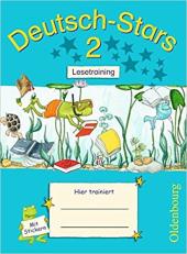 Stars: Deutsch-Stars 2 Lesetraining - фото обкладинки книги