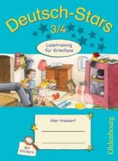 Stars: Deutsch-Stars 3/4 Lesetraining fr Krimifans - фото обкладинки книги