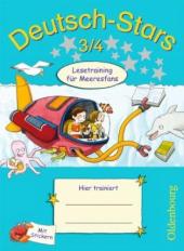 Stars: Deutsch-Stars 3/4 Lesetraining fr Meeresfans - фото обкладинки книги